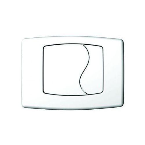 Przycisk spłukujący do stelaża foka biały marki Kk-pol