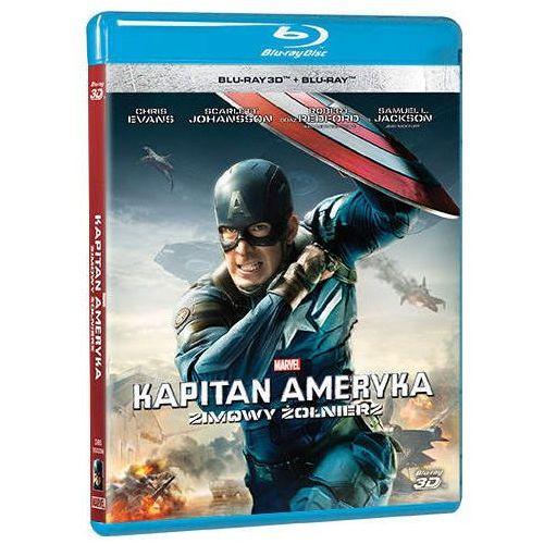 Kapitan ameryka: zimowy żołnierz 3d (blu-ray) - anthony russo, joe russo darmowa dostawa kiosk ruchu marki Galapagos
