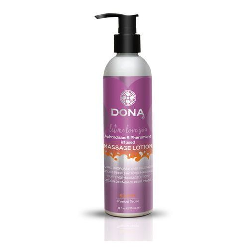 Dona Sexshop - balsam do masażu nuru lomi lomi- massage lotion 250 ml tropikalny - online