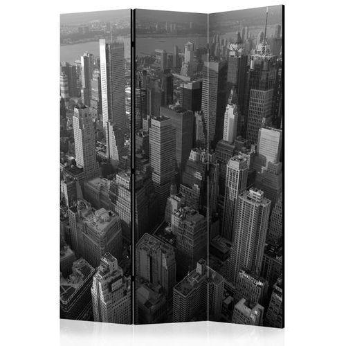 Artgeist Parawan 3-częściowy - nowy jork: wieżowce (widok z lotu ptaka) [room dividers]