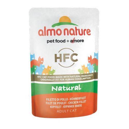 hfc natural filet z kurczaka w naturalnym sosie 6x55g marki Almo nature