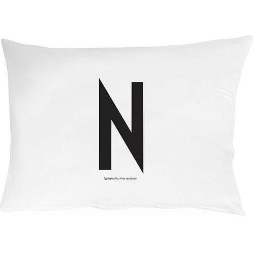 Design letters Poszewka na poduszkę arne jacobsens vintage abc litera n (5710498749231)