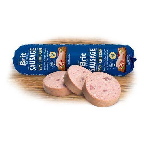 BRIT dog sausage CHICKEN/rice - 800g, 1300199