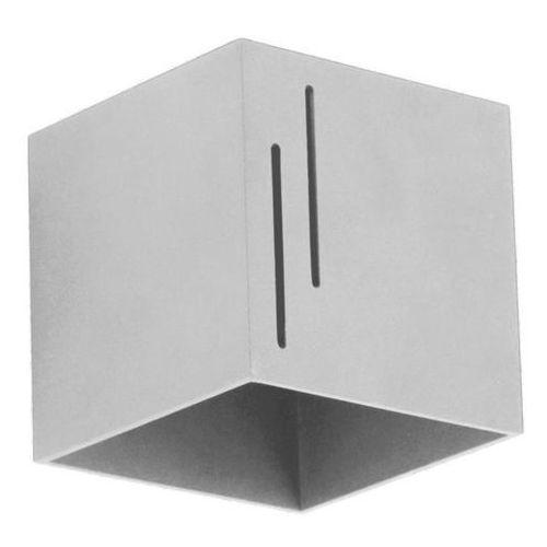 Kinkiet quado modern b popiel - popiel marki Lampex