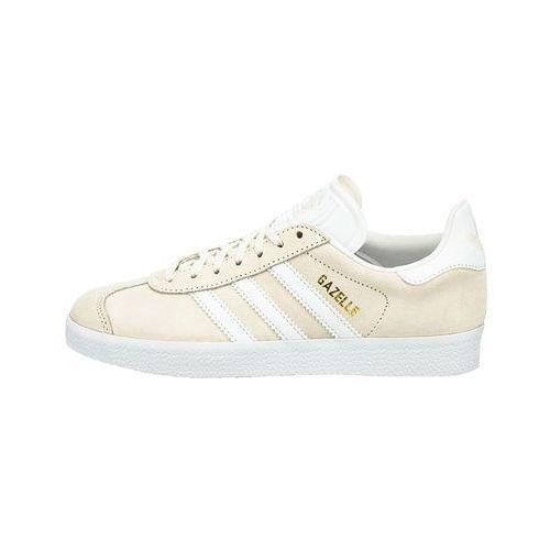 Adidas originals  GAZELLE Tenisówki i Trampki offwhite/white/gold metallic, biała, max rozmiar: 48
