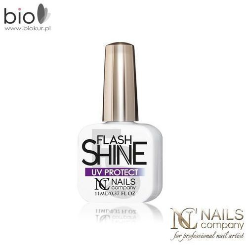 Flash Shine UV Protect - Top Hybrydowy – Nails Company - 11 ml
