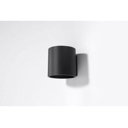 Sollux Orbis 1 SL.0048 Kinkiet lampa ścienna 1x40W G9 czarny >>> RABATUJEMY do 20% KAŻDE zamówienie!!!, SL.0048