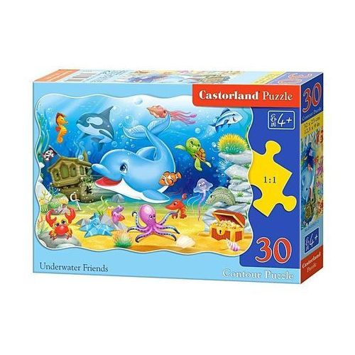 Puzzle 30 podwodni przyjaciele marki Castor