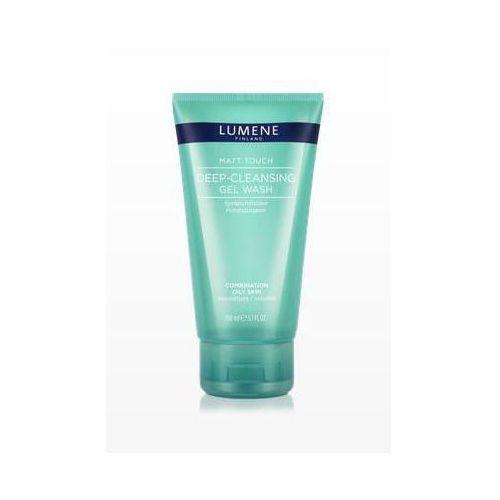 matt touch deep - cleansing gel wash - głęboko oczyszczający żel do mycia twarzy, 150 ml marki Lumene