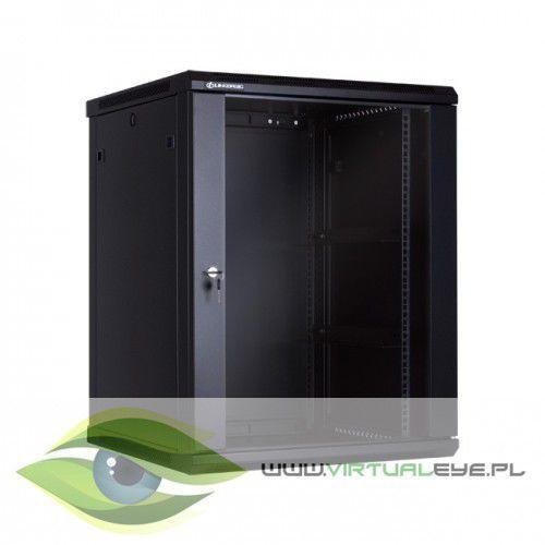 Linkbasic szafa wisząca 19 15u 600mm drzwi szklane