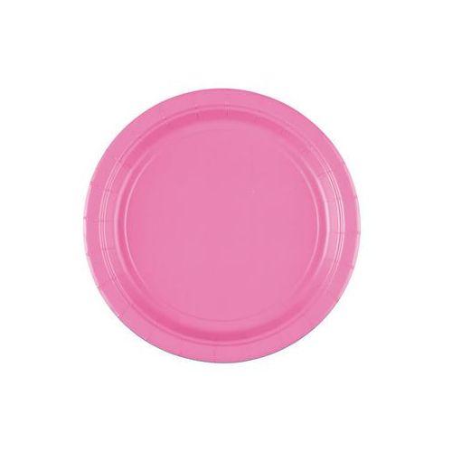 Talerzyki różowe - 18 cm - 8 szt. (0013051740863)