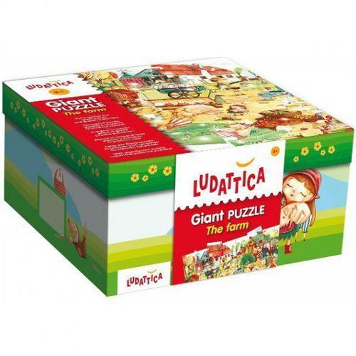 Liscianigiochi Ludattica 48el. giant puzzle the farm (8008324052479)