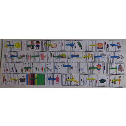 Mega zestaw kart edukacyjnych - wersja w j. angielskim marki Bystra sowa