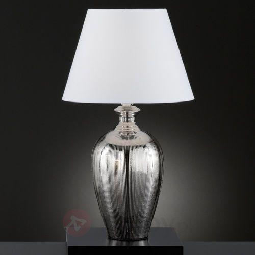 Honsel belly lampa stołowa srebrny, 1-punktowy - klasyczny - obszar wewnętrzny - belly - czas dostawy: od 4-8 dni roboczych (4001133592345)