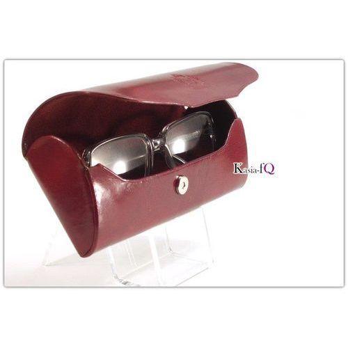 Futerał na okulary etui naturalna skóra, marki Elbląski przemysł skórzany