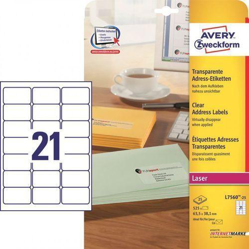 Etykiety adresowe Avery Zweckform L7560, 70x37mm z kategorii Etykiety biurowe