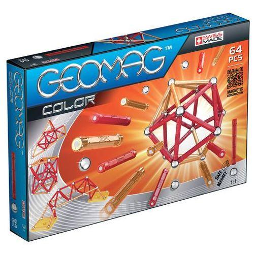 Geomag Color 64 el. - BEZPŁATNY ODBIÓR: WROCŁAW!