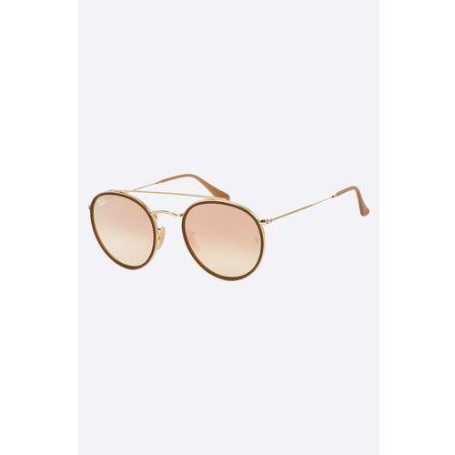 - okulary double round marki Ray-ban