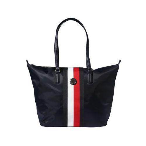 Tommy hilfiger torba shopper 'poppy tote corp' niebieski / czerwony / biały