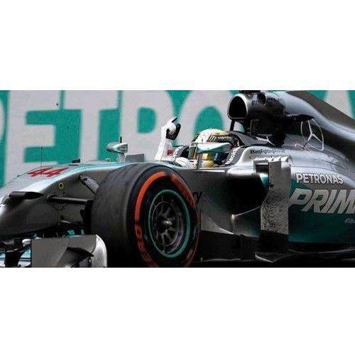 Minichamps Mercedes amg petronas f1 team w05 #44 lewis hamilton winner malaysian gp 2014