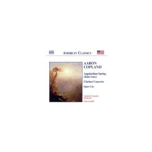 Naxos classical Copland: appalachian spring / clarinet concerto / quiet city