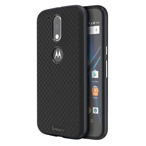 iPaky Premium Hybrid Szary | Obudowa ochronna dla modelu Motorola Moto G4 - Szary