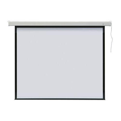 Ekran projekcyjny elektryczny PROFI 301x301 - ścienny / sufitowy - produkt z kategorii- Ekrany projekcyjne