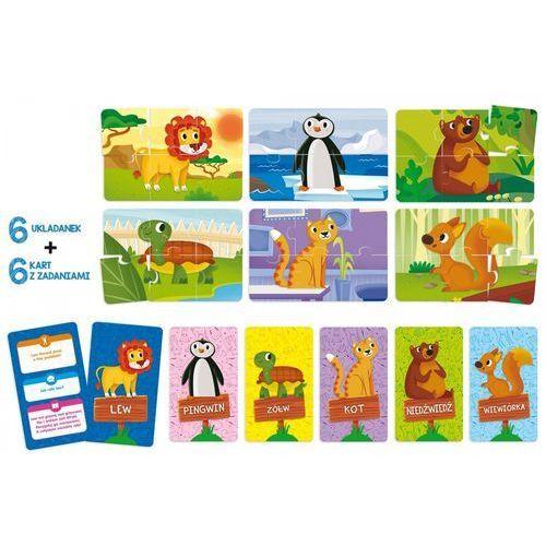 Puzzle dla dzieci i karty-fiszki