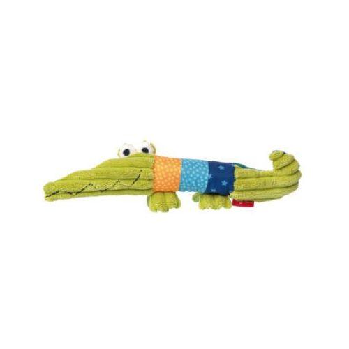 playq - basic steps - chwytak/zabawka z pistrzałką - krokodyl marki Sigikid