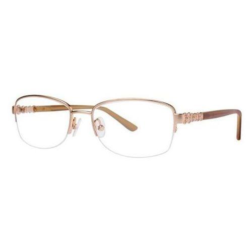 Okulary korekcyjne katrien gold marki Dana buchman