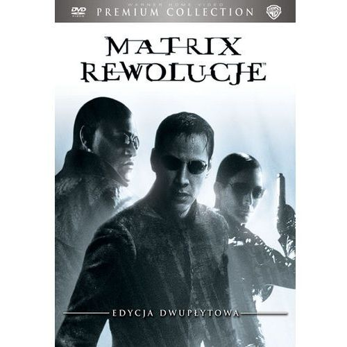 Matrix: rewolucje. premium collection (2 dvd) marki Galapagos films / village roadshow pictures