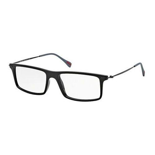 Okulary korekcyjne  ps03ev red feather 1ab1o1 marki Prada linea rossa