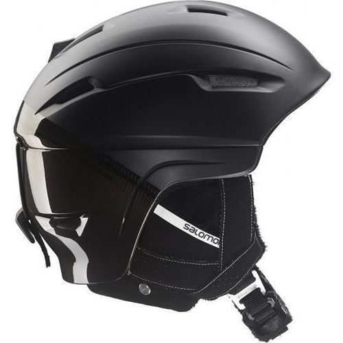 Salomon Kask narciarski ranger 4d black mat 377718