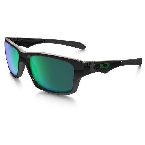 Okulary Oakley Jupiter Squared Polished Black/Jade Iridium OO9135-05, kolor czarny