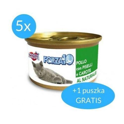maintenance dla kota 5x75g + 75g gratis (450g): smak - kurczak z groszkiem dostawa 24h gratis od 99zł marki Forza10