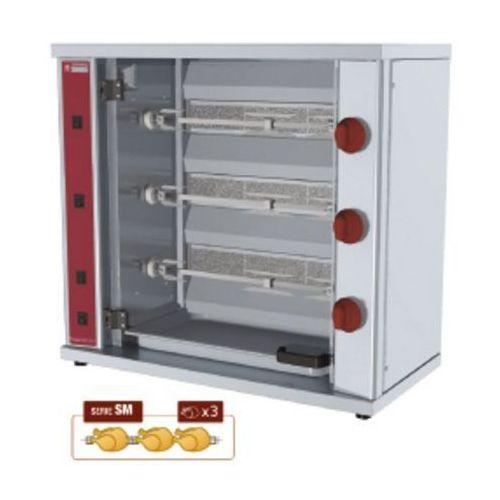 Diamond Rożen gazowy na kurczaki   3 widelce   100w   800x400x(h)735mm