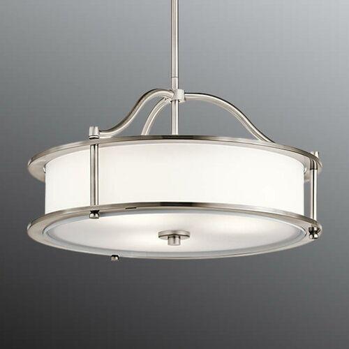 Lampa wisząca EMORY P S CLP KL/EMORY/P/S CLP - Elstead Lighting - Rabat w koszyku, KL/EMORY/P/S CLP