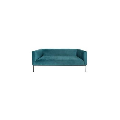9design Sofa blocket 3-os. turkusowy aksamit