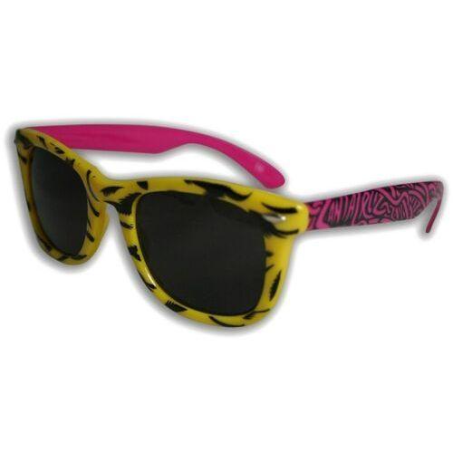 Okulary słoneczne - screaming shades yellow (yellow) rozmiar: os marki Santa cruz