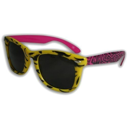 Santa cruz Okulary słoneczne - screaming shades yellow (yellow) rozmiar: os