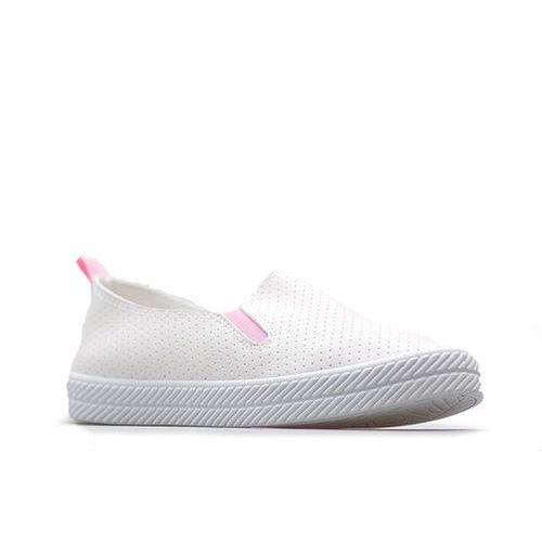 Półbuty Kylie K1832301 Białe/Różowe, kolor różowy