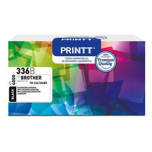 Ntt system Toner printt do brother ntb336b (tn-336/326) czarny 4000 str.