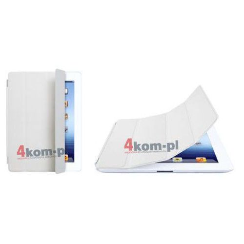 4kom.pl Smart cover etui/stojak do ipad 2 3 4 - biały