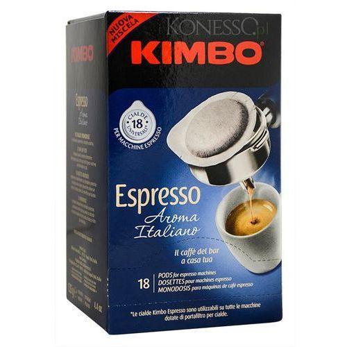 Kawa mielona Kimbo Espresso Aroma Italiano - saszetki ESE - paczkomaty 6 zł wysyłka 24h (kawa)