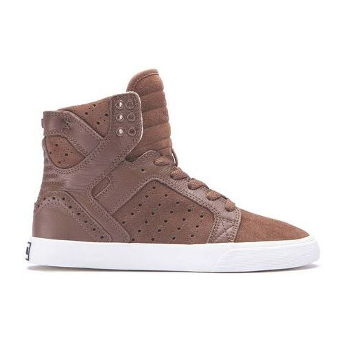 Buty - womens skytop brown/brogue-bone (brb) rozmiar: 36, Supra