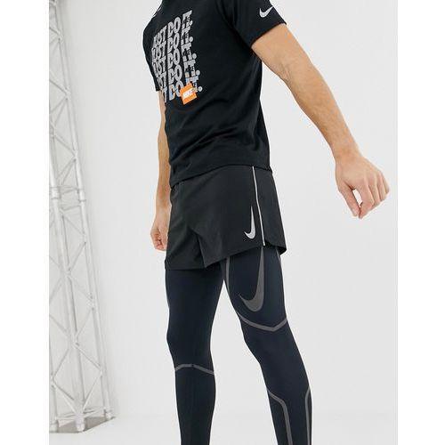 fast 4 inch shorts in black 893041-010 - black marki Nike running