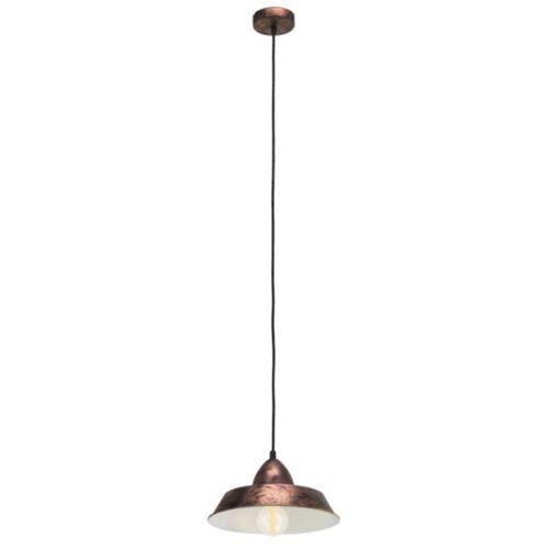 Lampa wisząca vintage auckland miedziana, 49243 marki Eglo