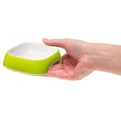glam miska extra small (xs) zielona marki Ferplast