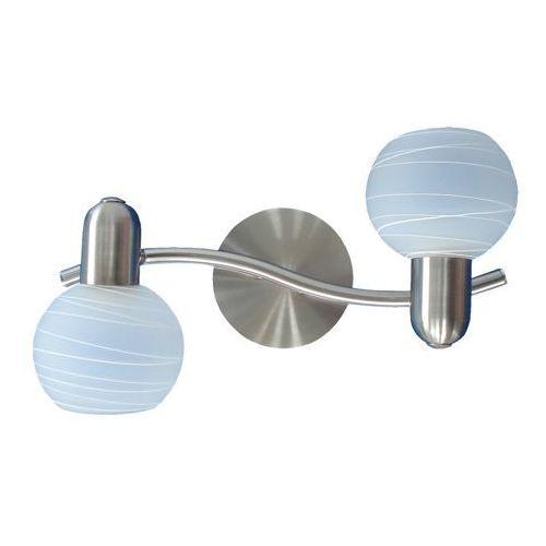 Rabalux Listwa lampa sufitowa aurel 2x40w e14 satyna 6342