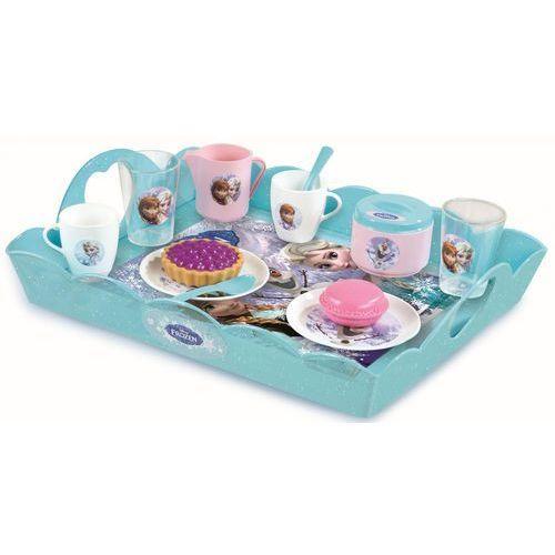 zestaw do herbaty z tacą, kraina lodu wyprodukowany przez Smoby